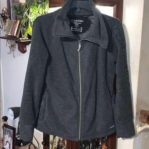 Sz small Calvin Klein fleece jacket
